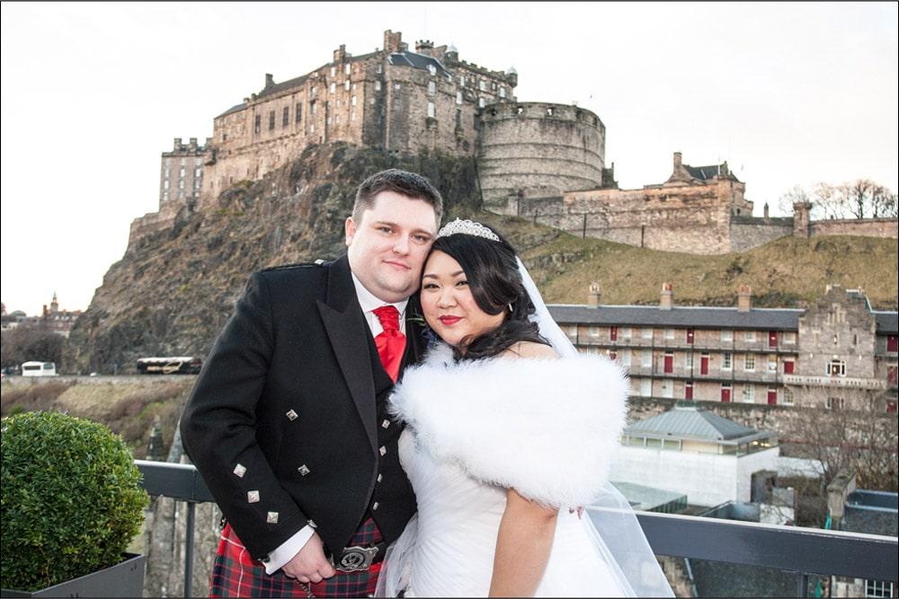 Apex Grassmarket Hotel Wedding