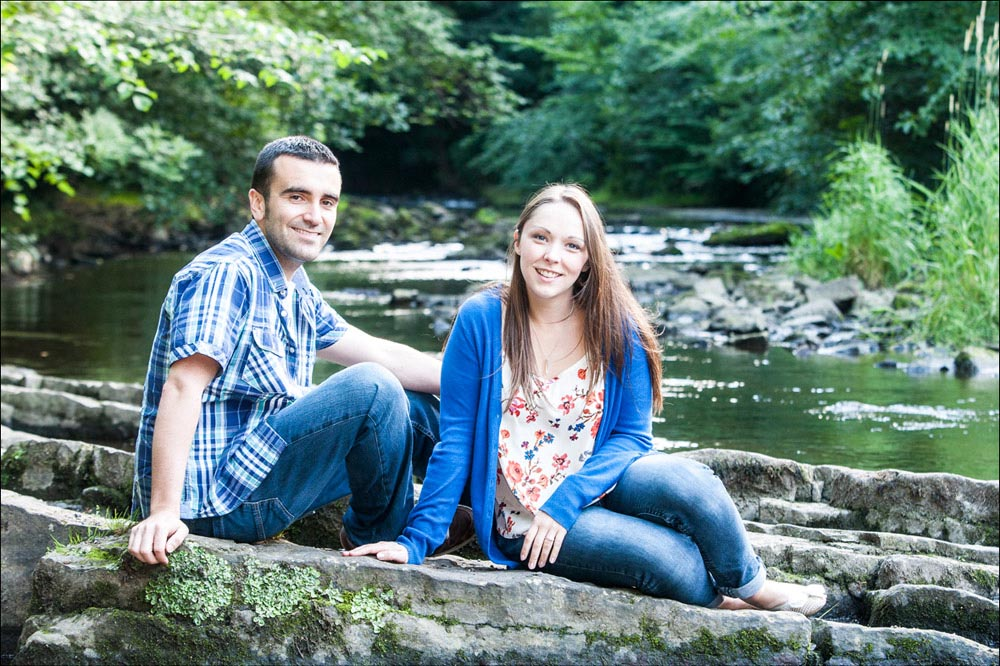 Louise and Jevan's Dean Village and Lauriston Castle Pre Wedding Shoot