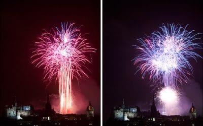 Virgin Money Fireworks Display Edinburgh 2013