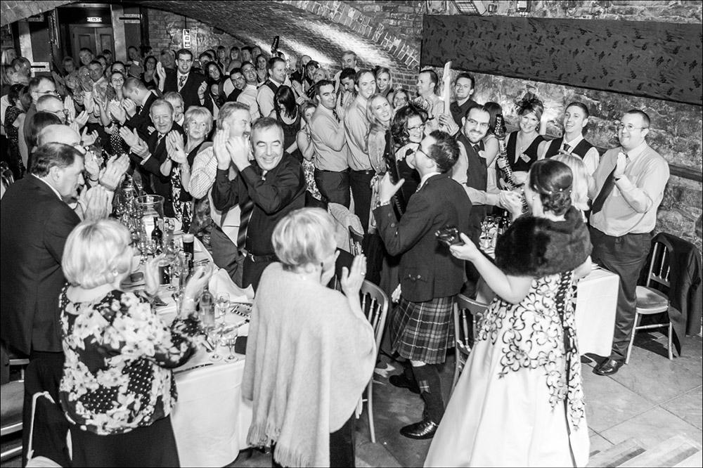 The Caves Edinburgh Wedding