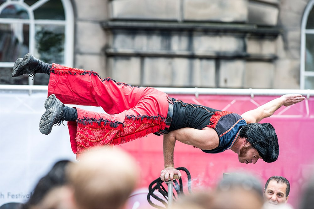 Edinburgh Festival Fringe 2014 with a 300mm 2.8
