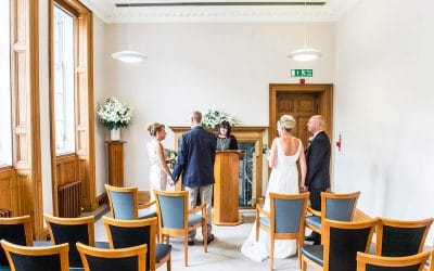 Lothian Chambers Registry Office Double Wedding