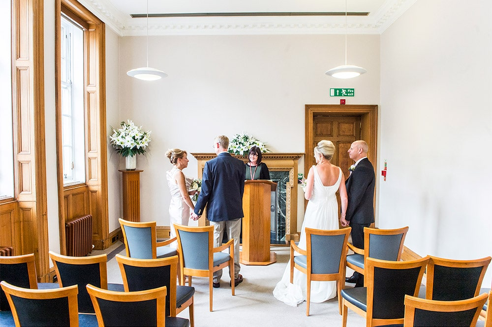 Lothian Chambers Registry Office Double Wedding