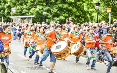 Edinburgh Jazz Festival Carnival Parade 2015