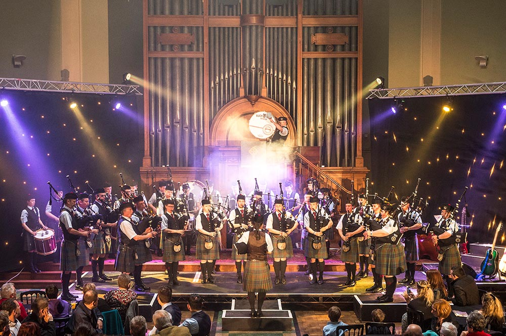 Stockbridge Pipe Band Concert