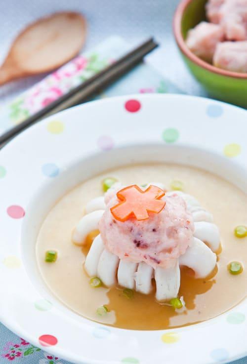 lucky flower blossom squid
