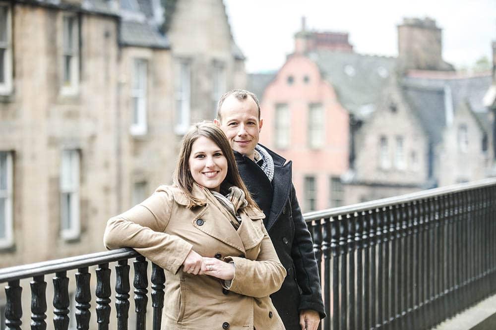 american wedding in edinburgh