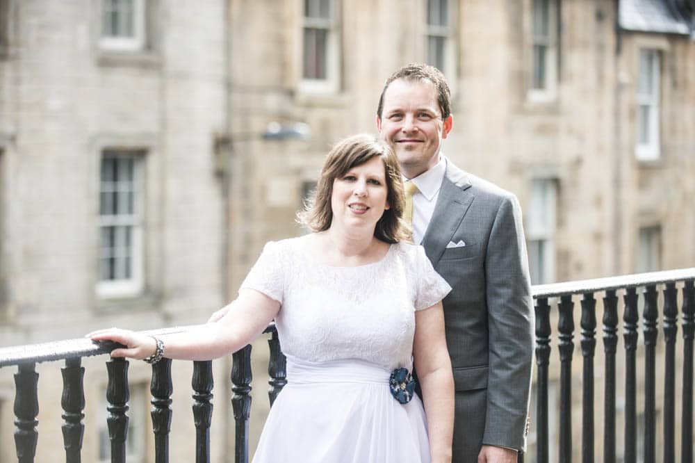 American Wedding at Lothian Chambers