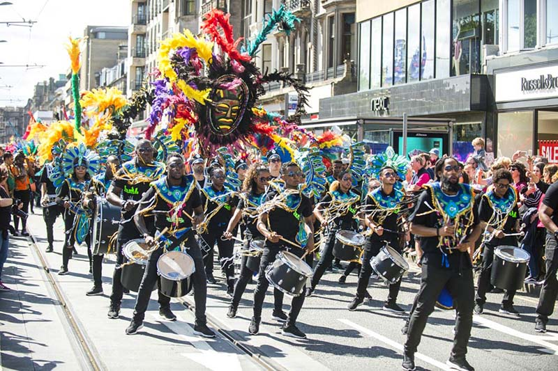 Edinburgh Jazz and Blues Festival Carnival 2017