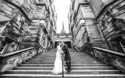 Double Tree Hilton Edinburgh Wedding