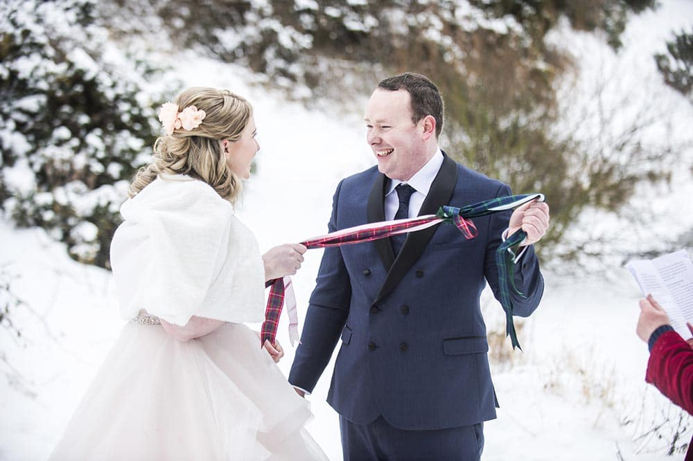 Beast from the East Wedding