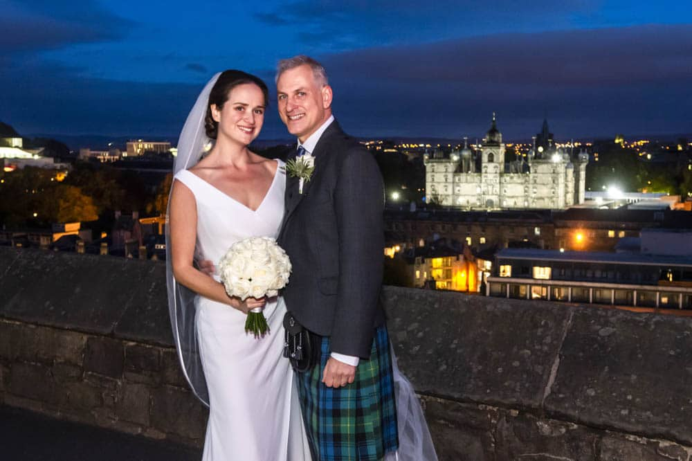 Edinburgh Castle Chapel Wedding