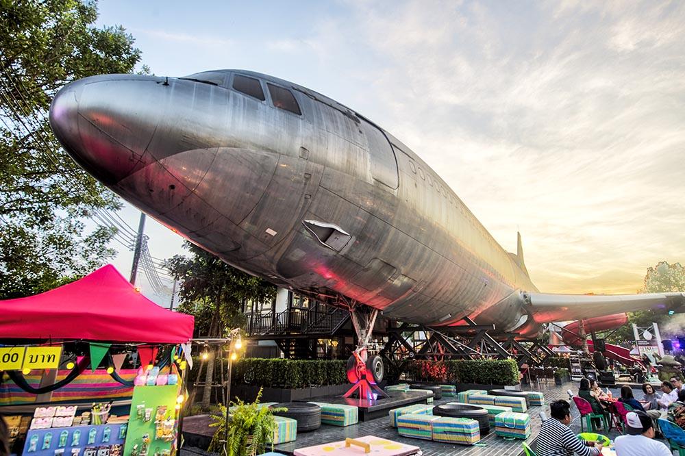 Chang Chui Plane Night Market Bangkok