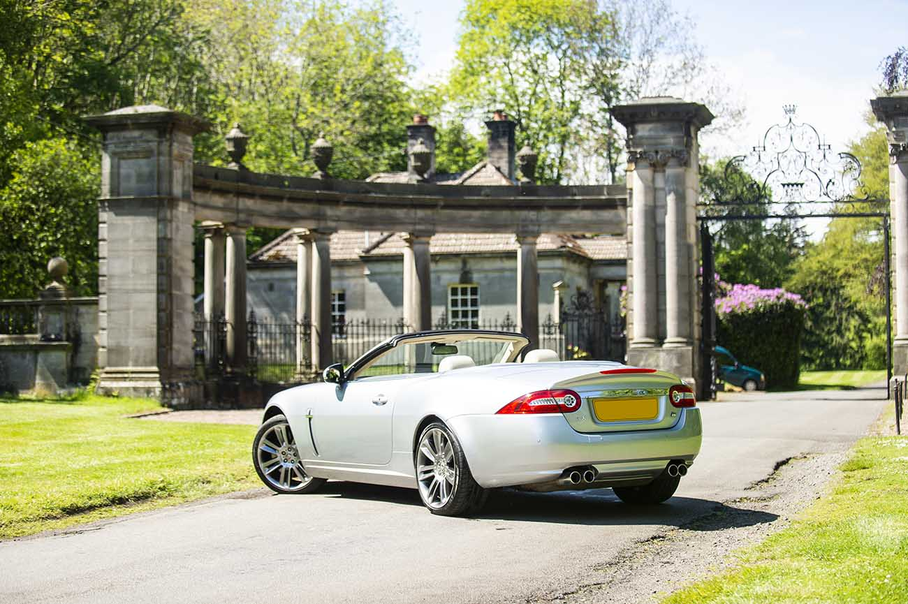 jaguar xkr car photography