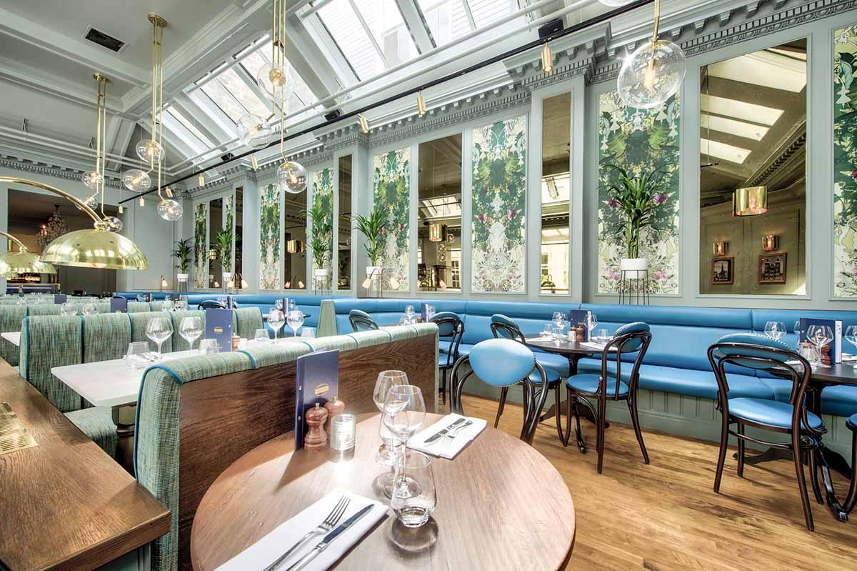 Browns Edinburgh Restaurant Photography